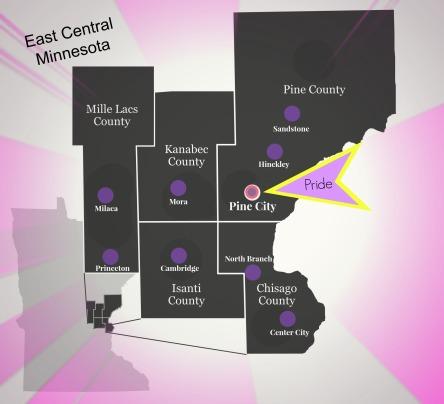 ECMN Map
